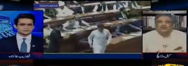 Aaj Shahzeb Khanzada Ke Sath (Nai Assembly Ka Aghaz) - 13th August 2018