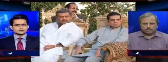 Aaj Shahzeb Khanzada Ke Sath (Sharjeel Memon Ki Wapsi) - 20th March 2017