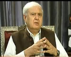 Aaj with Reham Khan (Aftab Ahmad Sherpao Exclusive Interview) - 4th December 2013