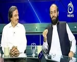 Aaj with Reham Khan (Karachi Mai Operation MQM Ne Tahafuzat Ka Izhar Kar Dia) - 11th September 2013