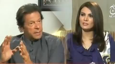 Aaj with Reham Khan (PTI Chairman Imran Khan Exclusive Interview) – 15th May 2014