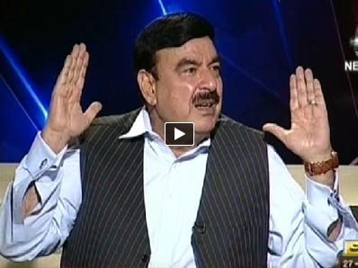 Aaj with Reham Khan (Sheikh Rasheed Ahmad Exclusive Interview) - 27th May 2014