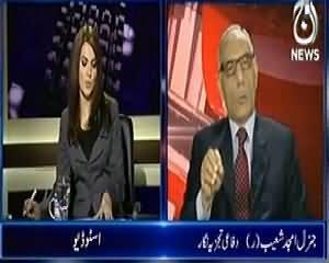 Aaj with Reham Khan (US Plan To Evacuate Afghanistan) - 12th February 2014