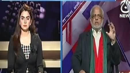 Aaj With Saadia Afzaal (30 Novemebr Aa Gya, PTI Vs PMLN) - 29th November 2014