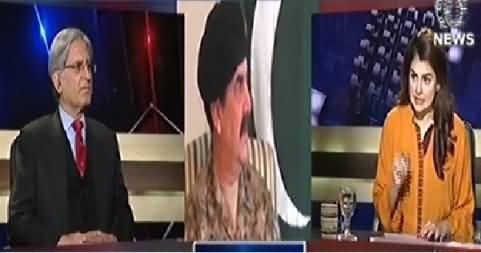 Aaj With Saadia Afzaal (Aitzaz Ahsan Exclusive Interview) - 30th December 2014