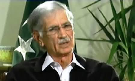 Aaj With Saadia Afzaal (CM KPK Pervez Khattak Exclusive Interview) - 7th November 2014