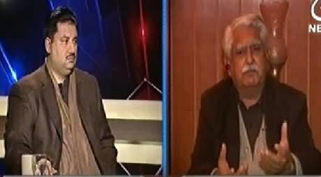 Aaj With Saadia Afzaal (Crisis Over Crisis, Where is Govt) - 27th January 2015