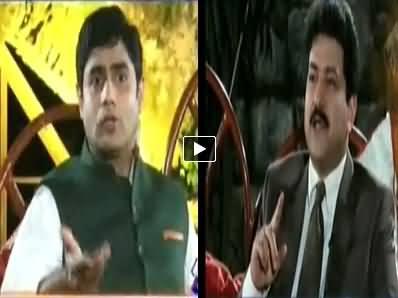 Aaj With Saadia Afzaal (Eid With Kashmala Tariq, Hamid Mir & Abrar ul Haq) – 6th October 2014