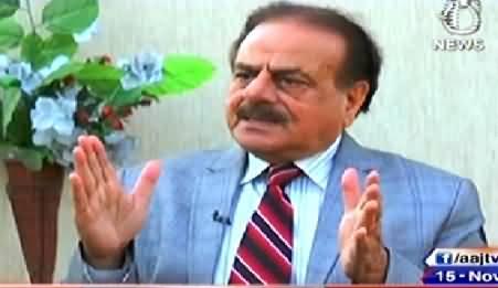 Aaj With Saadia Afzaal (Gen (R) Hameed Gul Exclusive Interview) - 15th November 2014