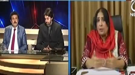 Aaj With Saadia Afzaal (Imran Khan Ka Daur e Peshawar) – 14th January 2015