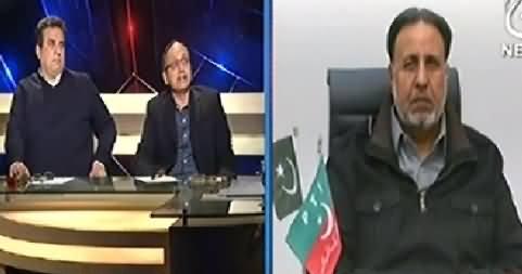 Aaj With Saadia Afzaal (Karachi Mein Imran Khan Ka Plan C) - 12th December 2014