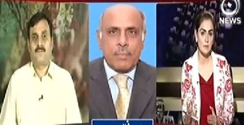 Aaj With Saadia Afzaal (Tomorrow PPP Will Show Its Power in Karachi) - 17th October 2014
