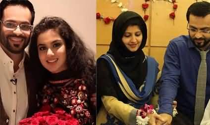 Aamir Liaquat's First Wife Unhappy on Aamir's Second Marriage With Tuba Anwar
