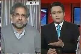 Aamne Saamne (Shahid Khaqan Abbasi Exclusive Interview) – 10th December 2018
