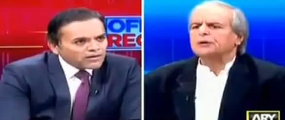 Aap Kis Munh Se PMLN Mein Ja Rahe Hain - Kashif Abbasi to Javed Hashmi