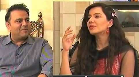 Aap Meri Taangein Khench Rahi Ho - Funny Debate Between Fawad Chaudhry & Rabi Pirzada
