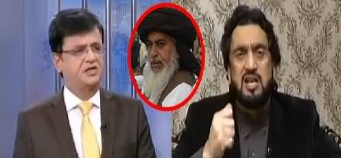 Why Didn't You Take Action Against Khadim Rizvi & Afzal Qadri? Kamran Khan Asks Shehryar Afridi