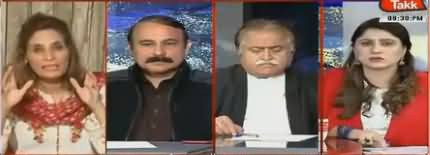 Aap Thori Si Tameez Seekhein - Clash Between Andleeb Abbas And Tariq Fazal Chaudhry