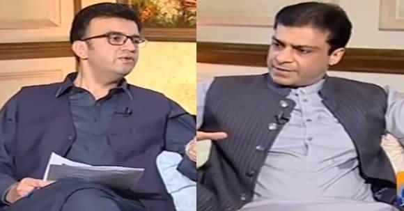 Aapas Ki Baat (Hamza Shahbaz Exclusive Interview) - 8th July 2018