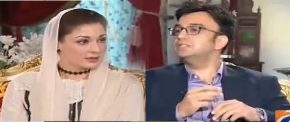 Aapas Ki Baat (Maryam Nawaz Exclusive Interview) - 1st November 2017