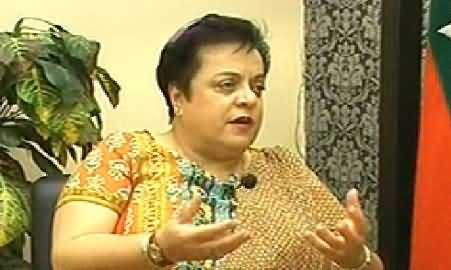 Ab Kiya Hoga (PTI Dr. Shireen Mazari Exclusive Interview) – 14th June 2014