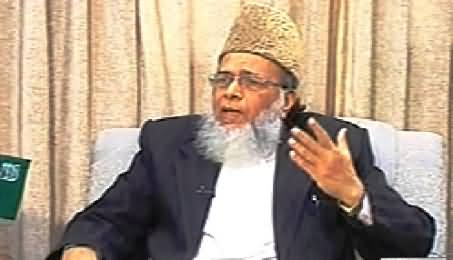 Ab Kiya Hoga (Syed Munawar Hassan Exclusive Interview) – 25th January 2014