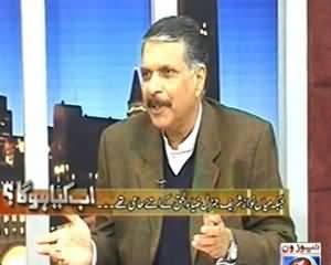 Ab Kiya Hoga (Why Ejaz ul Haq Angry With PMLN) - 14th December 2013