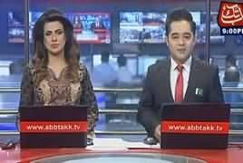 Abbtak News 9pm Bulletin – 11th August 2017