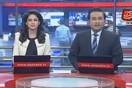 Abbtak News 9pm Bulletin – 26th April 2018