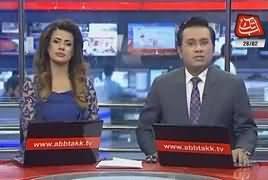 Abbtak News 9pm Bulletin – 26th February 2018
