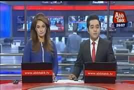 Abbtak News 9pm Bulletin – 26th July 2017