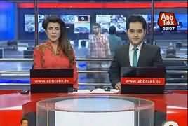 Abbtak News 9pm Bulletin – 2nd July 2017