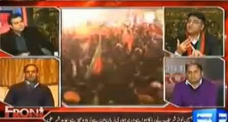 Abid Sher Ali Challenge to Asad Umar, Funny Moment of the Program