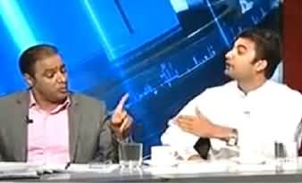 Abid Sher Ali (PMLN) VS Murad Saeed (PTI)