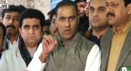 Abid Sher Ali Response on Chaudhry Nisar's Statement About Maryam Nawaz