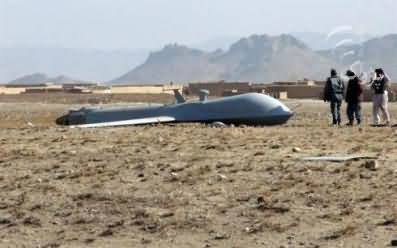 Afghan Taliban Shoot Down The Drone in Afghanistan