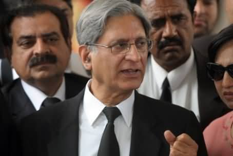 After PTI, Aitzaz Ahsan Going to Publish White Paper on Rigging in General Elections 2013