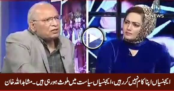 Agencies Are Not Doing Their Work, They Are Doing Politics - Mushahid Ullah Khan