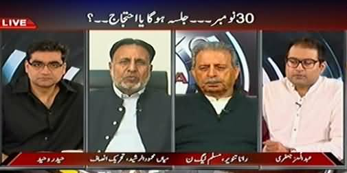 Agenda 360 (30th November Ko Jalsa Hoga Ya Dharna) – 29th November 2014