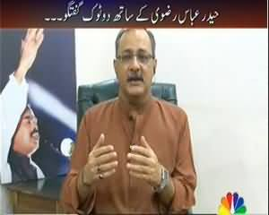 Agenda 360 (Karachi Mein Target Operation .. Kis Kis ko Tention ??) - 1st September 2013