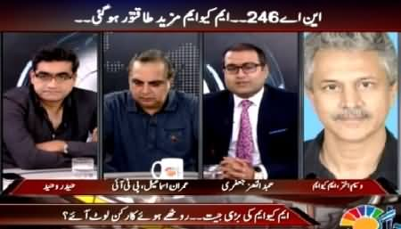 Agenda 360 (NA-246: MQM Became More Strong) – 25th April 2015