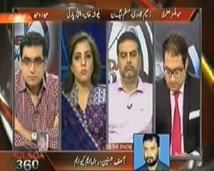 Agenda 360 (One More Attack on Freedom of Press) – 19th April 2014