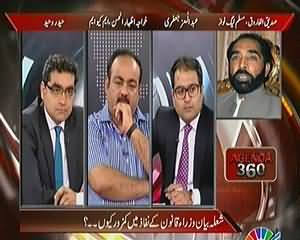 Agenda 360 (Opposition Divided Over Pakistan Protection Ordinance) – 13th April 2014