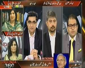 Agenda 360 (PTI Blames Federal Govt Supporting Geo Tv) - 24th May 2014