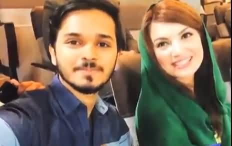 Agli Baar Khawateen Ka PSL Hona Chahiye - Reham Khan Enjoys PSL Final in Lahore