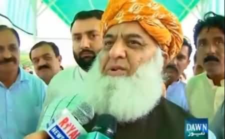 Aik Dafa Estifa De Diya Tu Phir Wapsi Ka Koi Raasta Nahi - Maulana Fazal-ur-Rehman