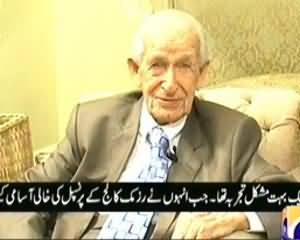 Aik Din Geo Ke Saath (Exclusive Interview With Jeffrey Langland) - 8th November 2013