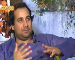 Aik Din Geo Ke Saath (Exclusive Interview With Rahat Fateh Ali Khan) - 25th October 2013
