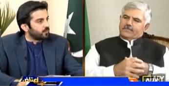 Aiteraz Hai (CM KP Mehmood Khan Exclusive Interview) - 11th October 2019