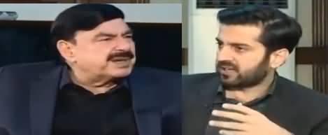 Aitraaz Hai (Sheikh Rasheed Ahmad Exclusive Interview) - 28th December 2018